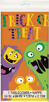 Silly Halloween Monsters Tablecover (1)